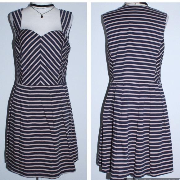 903b3bc086e0 Charlotte Russe Dresses | Empire Waist Skater Tea Dress | Poshmark